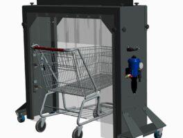 Translation of technical manual for shopping cart washing station