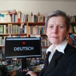 German technical translator Iris Rethy working